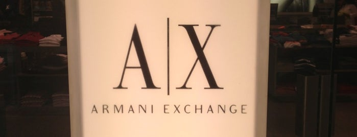 Armani Exchange is one of Tempat yang Disukai Danyel.