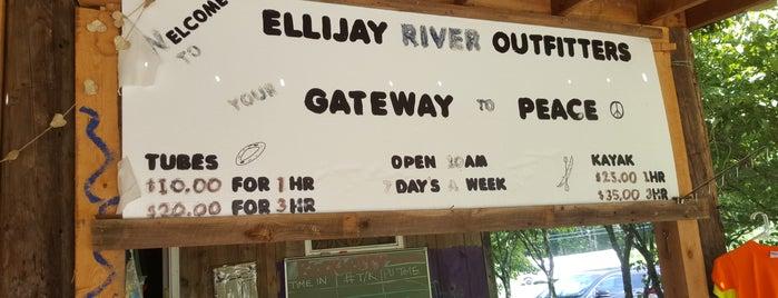 Ellijay River Outfitters is one of John'un Beğendiği Mekanlar.