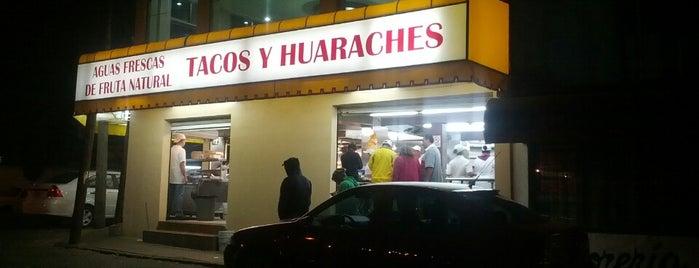 Tacos El Paisa is one of Tempat yang Disukai Angeles.