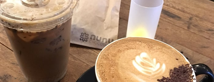 Nunu Chocolates Cafe & Tap Room is one of Lugares favoritos de Danyel.