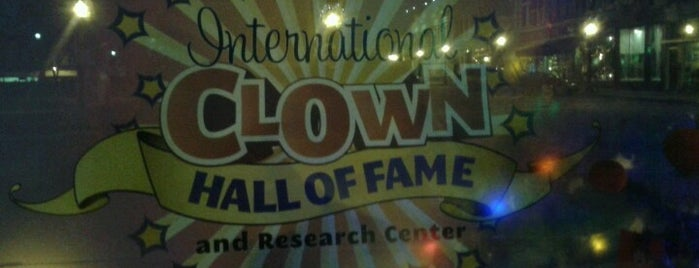 International Clown Hall of Fame is one of CBS Sunday Morning 2.