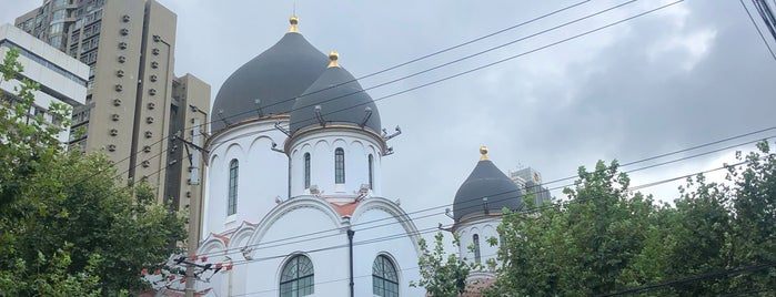 Shanghai Russian-Orthodox Church is one of Shnaghai.