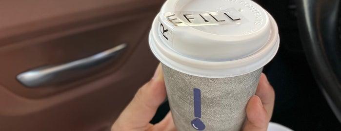 Refill Coffee is one of Queen'in Kaydettiği Mekanlar.
