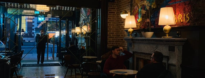 Cafe en Seine is one of Tempat yang Disukai Brían.