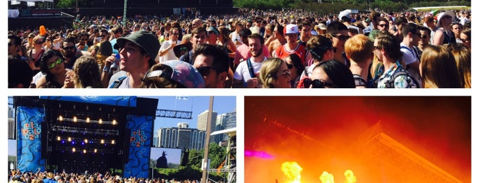 Lollapalooza 2015 is one of Lugares favoritos de Greg.