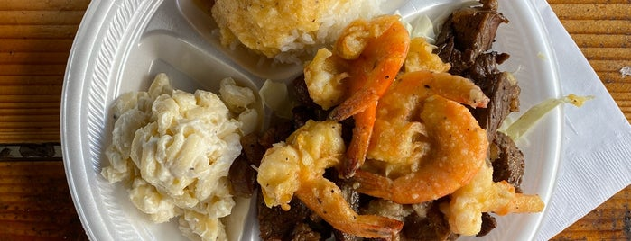 Famous Kahuku Shrimp is one of O'ahu, Hawaii.