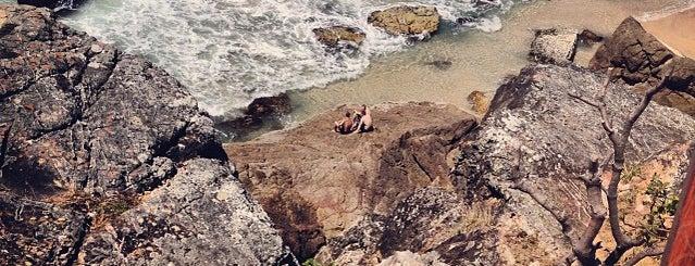 North Burleigh Beach is one of Orte, die Jacquie gefallen.
