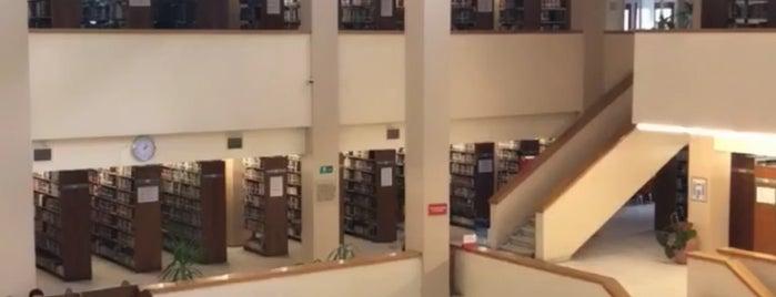 Boğaziçi Üniversitesi Abdullah Kuran Kütüphanesi is one of A bookworm's nest.