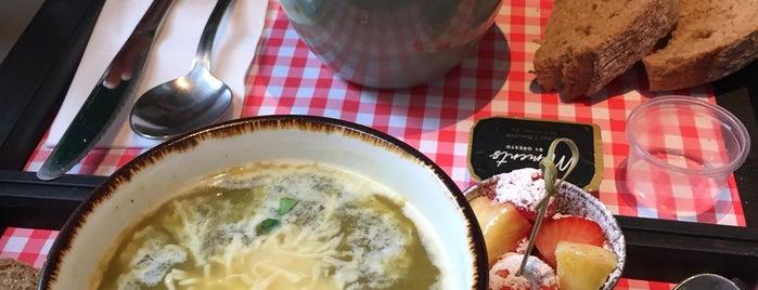 Soup is one of Orte, die Marina gefallen.