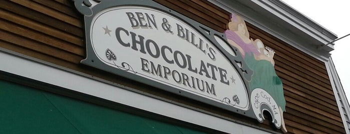 Ben & Bill's Chocolate Emporium is one of KATIE 님이 좋아한 장소.