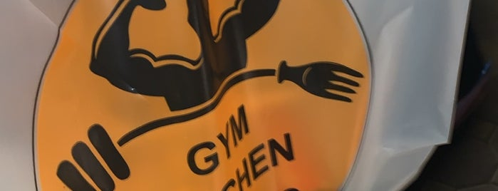 Gym Kitchen is one of Locais salvos de Noha.
