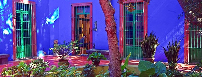 Museo Frida Kahlo is one of Mexico City must do's.