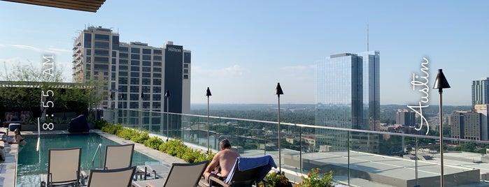 Westin Rooftop Pool is one of Locais curtidos por Alexandra.