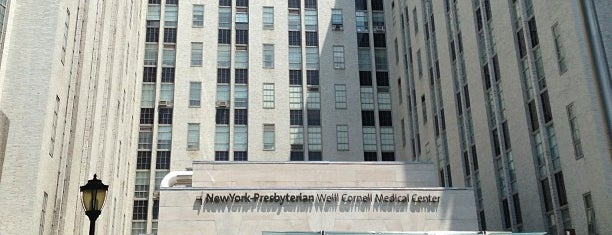 New York Presbyterian Hospital Weill Cornell Medical Center is one of st : понравившиеся места.