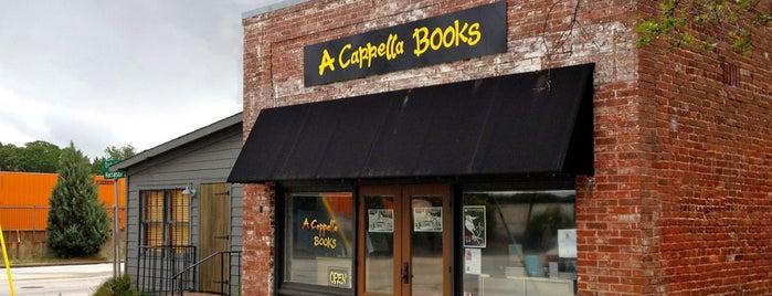 A Capella Books is one of Atlanta.