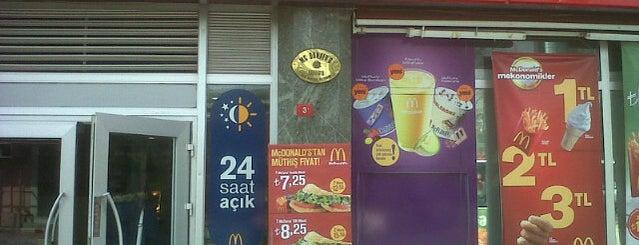 McDonald's is one of Lieux qui ont plu à Mustafa Çağri.