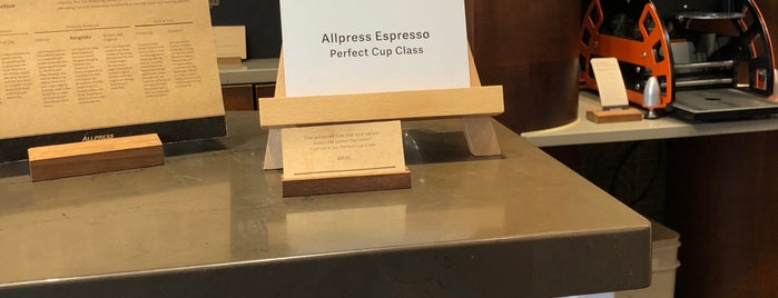Allpress Coffee is one of Auckland Cafes.