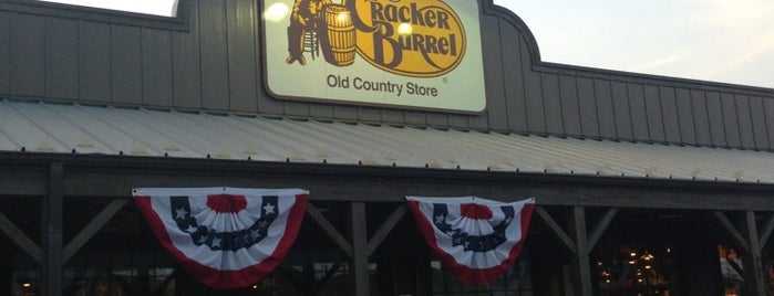 Cracker Barrel Old Country Store is one of Food and Drink.