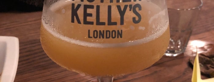 Mother Kelly's Bottle Shop And Tap Room is one of Lieux sauvegardés par Bigmac.