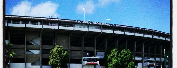 Estádio José do Rego Maciel is one of Gespeicherte Orte von JRA.