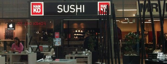 Hanko Sushi is one of Locais curtidos por Louise.