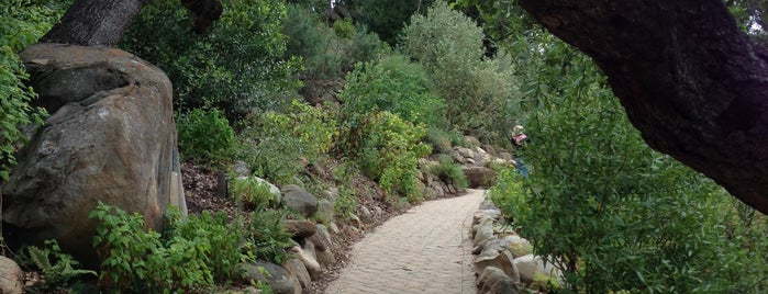 The Santa Barbara Botanic Garden is one of Cali 2018.