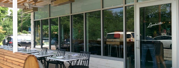 Launderette is one of Austin Food.