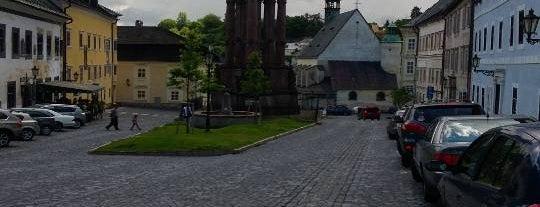 Námestie sv. Trojice is one of Banska Stiavnica.