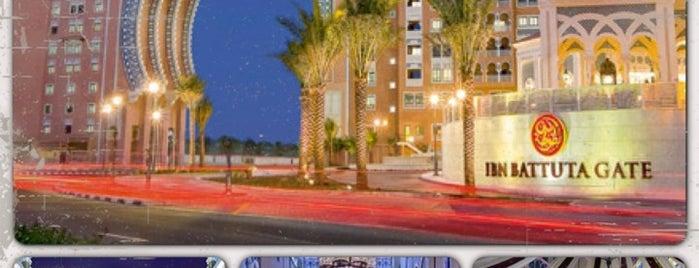 Mövenpick Ibn Battuta Gate Hotel Dubai is one of Lieux qui ont plu à Annette.