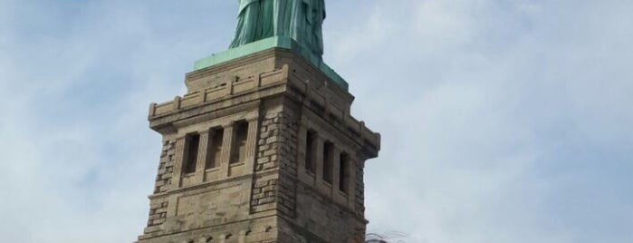 Statue of Liberty Museum is one of Lugares favoritos de Erika.