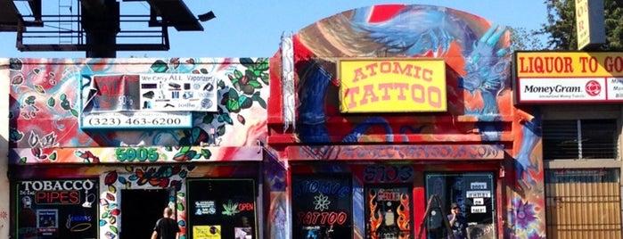 Atomic Tattoo is one of Lieux qui ont plu à Hillary.