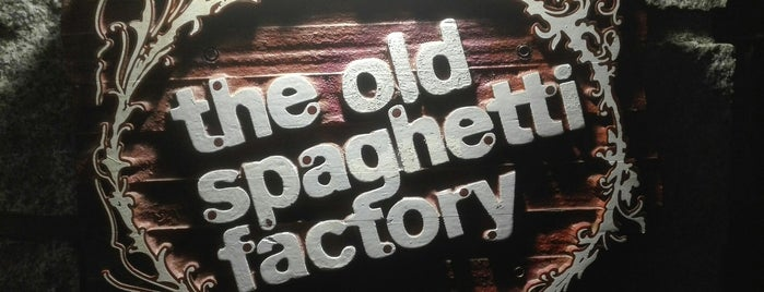 The Old Spaghetti Factory is one of Family Friendly Experiences.