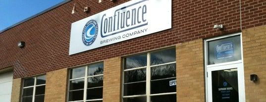 Confluence Brewing Company is one of Des Moines.
