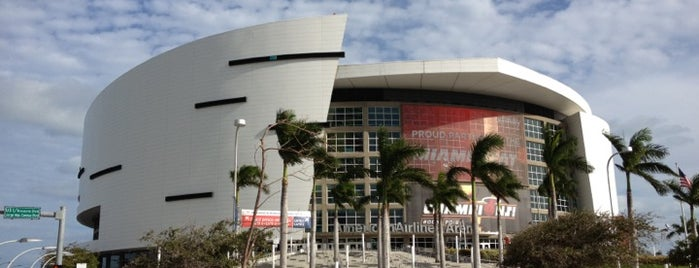 American Airlines Arena is one of US Pro Sports Stadiums - ALL.