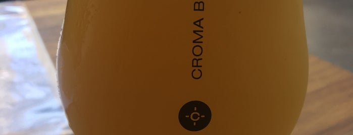 Croma is one of Craft beer in São Paulo.