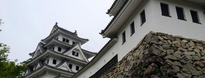Gujo Hachiman Castle is one of ドライブ|お城スタンプラリー.