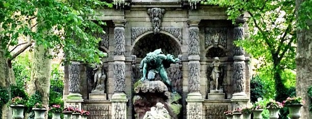 Medicibrunnen is one of Paris.