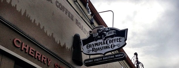 Olympia Coffee Roasting Co is one of Orte, die Cusp25 gefallen.