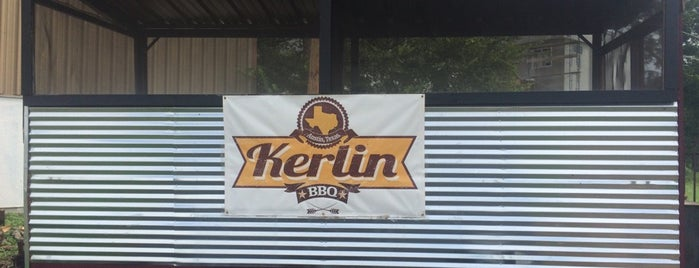 Kerlin BBQ is one of Austin.