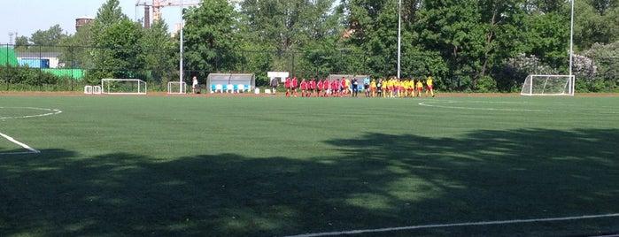 """Стадион """"Красный Треугольник"""" is one of Locais curtidos por Stanislav."""