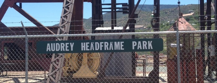 Audrey Headframe is one of West Coast Sites.