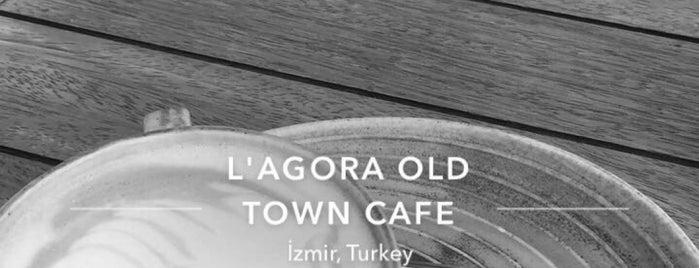 L'agora Old Town Cafe is one of Mutlaka gidilecek.