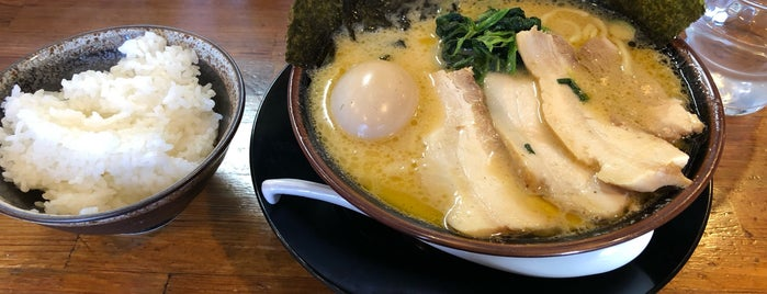横濱家系ラーメンきがる屋 is one of Lugares favoritos de corno0903.