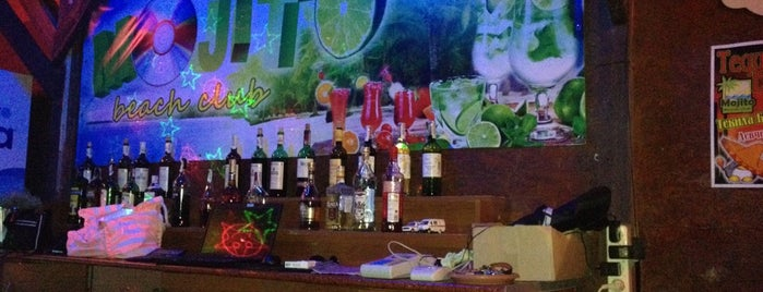 Mojito Beach Club is one of Tempat yang Disimpan Alekseeva✌❤💗💋😘💋💋💋💋.