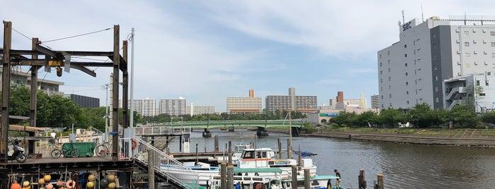 勝島運河 is one of สถานที่ที่ Tomato ถูกใจ.