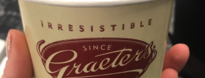 Graeter's Ice Cream is one of Lugares favoritos de Rachel.