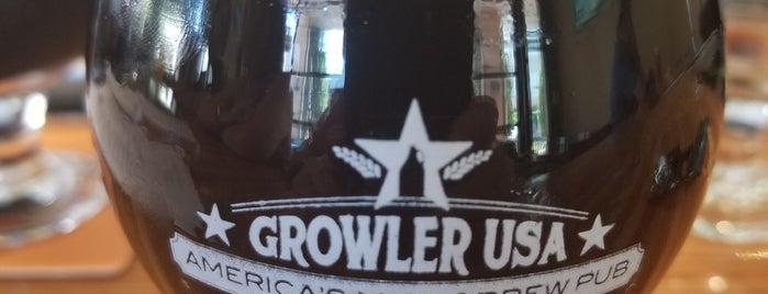 Growler USA is one of สถานที่ที่ Scott ถูกใจ.
