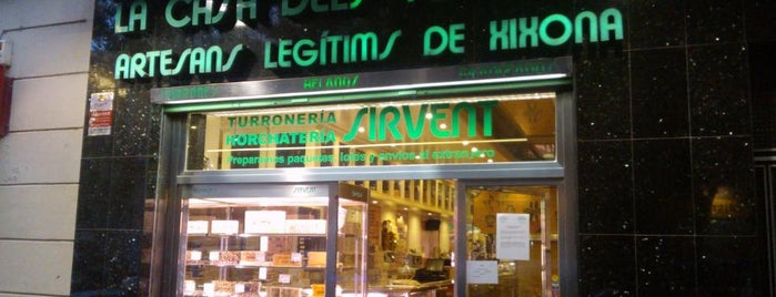 Horchatería Sirvent is one of Barcelona centre.