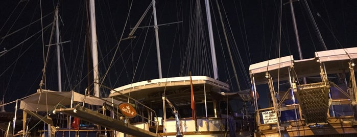 Sünger Pizza Bodrum Marina is one of Bodrum.