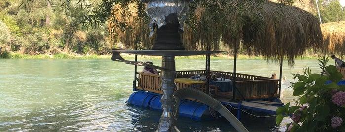 Gökçesu restaurant & rafting is one of Antalya.